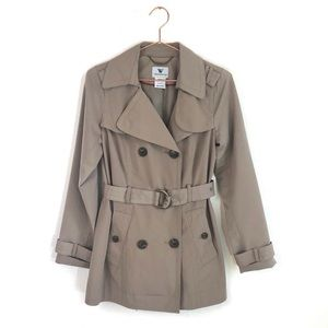Women's Classic Belted Trench Coat In Tan